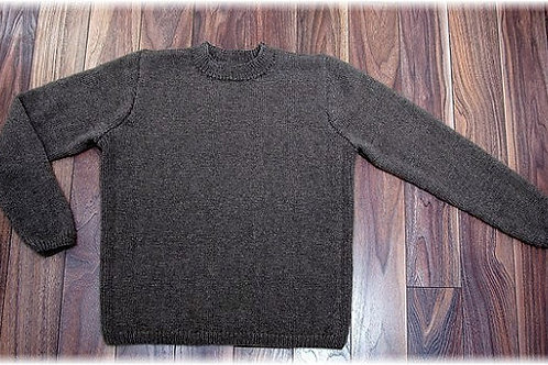 "Sweater ""Mount Garibaldi""  Pure Qiviut"