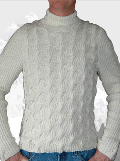 Sweater Castle Mountain  Pure Merino