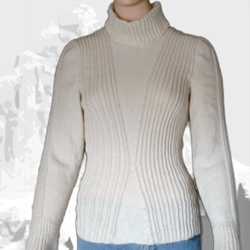 """Sweater """"Chataway Lake""""   Merino-Silk-Bamboo"""