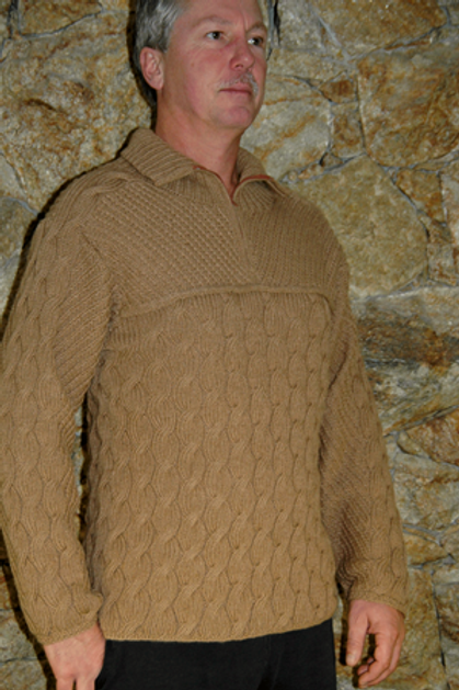Sweater Mount Robson  Baby Camel