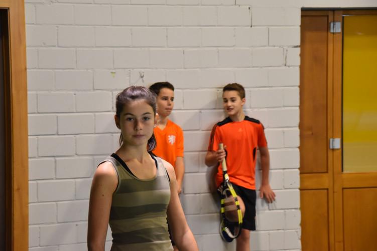 Chiara, Sander und Raresh