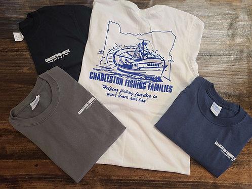 Adult Crew Neck Short Sleeve T-shirt