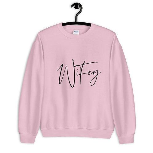 Wifey Unisex Sweatshirt