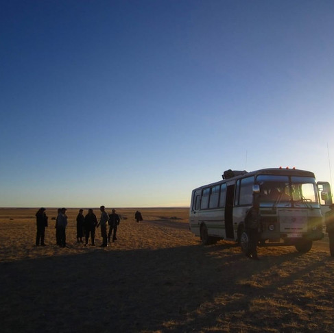Next stop: Mongolia's Wild West