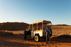 Offroading in Namibia