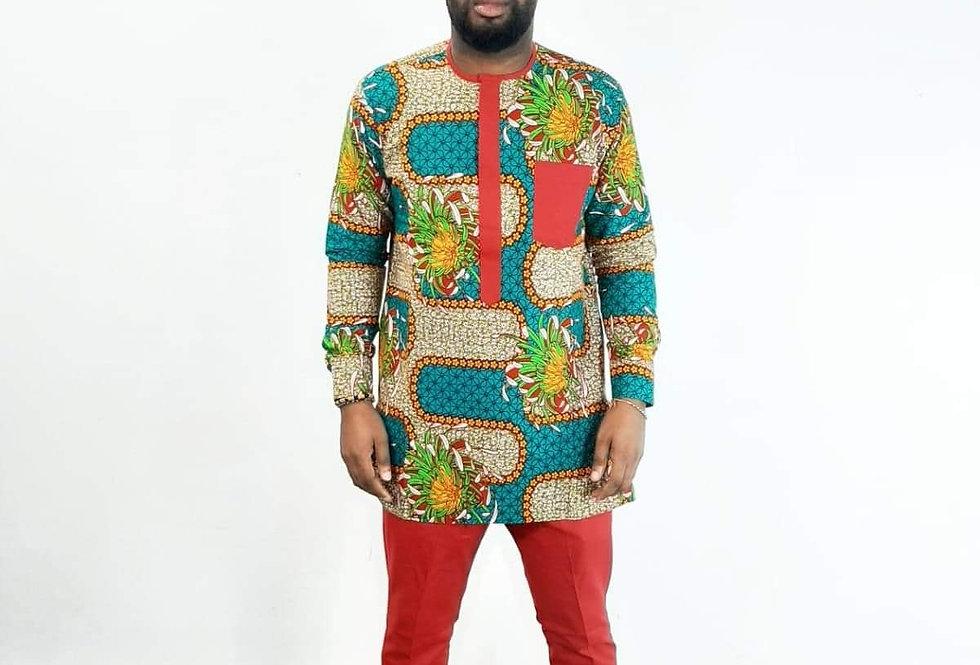 Esam Two Piece Maze Suit