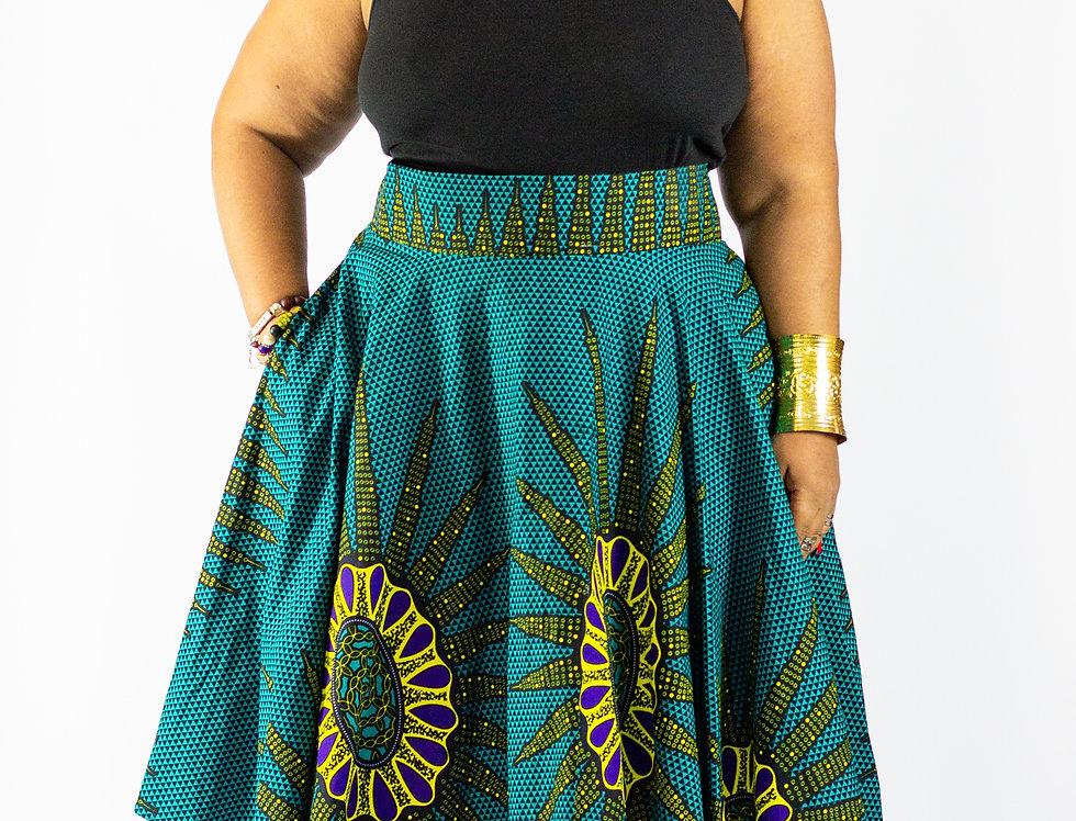Adofo Mid Length Skirt