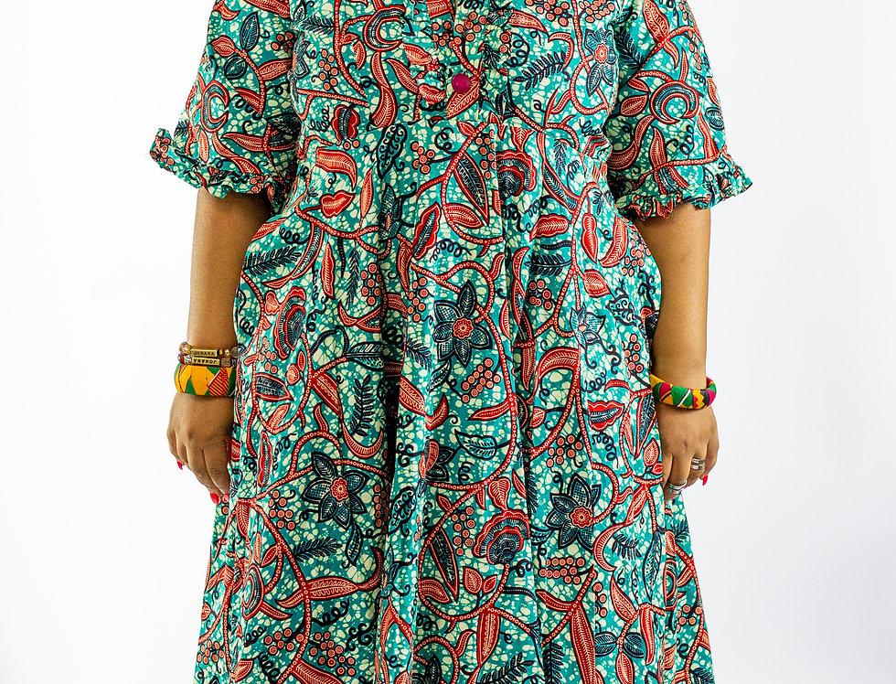 Thema Floor Length Dress