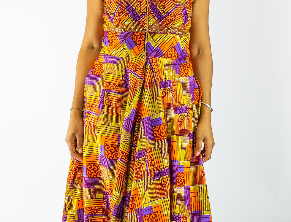 Caimile Floor Length Dress