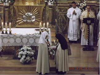 Hna. Benedicta - Profesión en Pamplona