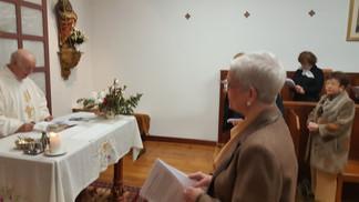 OSCAR MORAL  TOMA DE ESCAPULARIO EN EL CARMELO SEGLAR DE VITORIA – GASTEIZ
