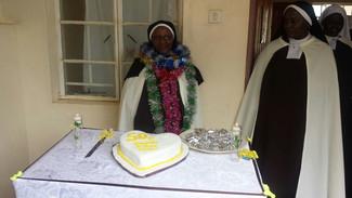 MADRES CARMELITAS de ZOMBA - Sor María Elián de Jesús - 50 años