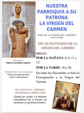 VIVA LA VIRGEN DEL CARMEN - Logroño