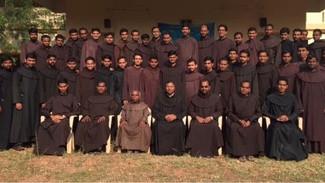 Reunión de los estudiantes de Teología de las Provincias OCD de la India