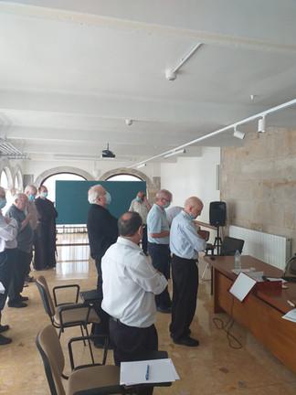Segunda jornada- Elección del P. Provincial – Visita de la Familia Carmelitana