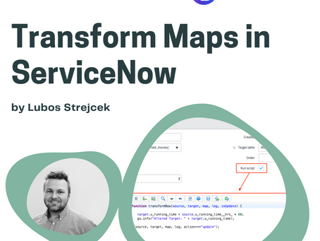 Transform Maps in ServiceNow