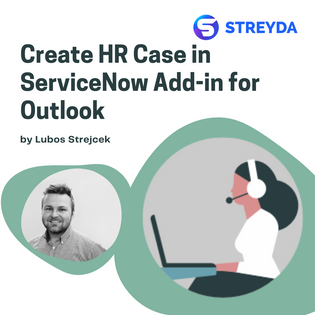 Create HR Case in ServiceNow Add-in for Outlook