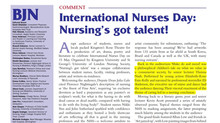 International Nurses Day 2015