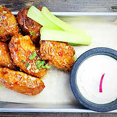 Double Fried Wings 6pc