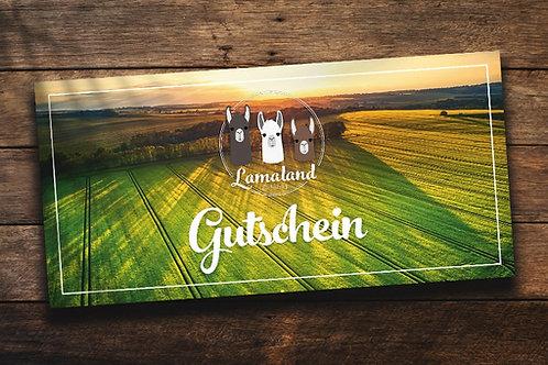 Lamaland Gutschein