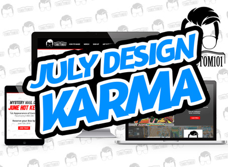 July Design Karma- ComicTom101