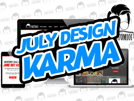 July Design Karma- ComicTom101