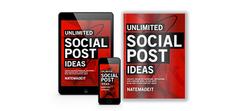 Unlimited Social Post Ideas Mock Ups