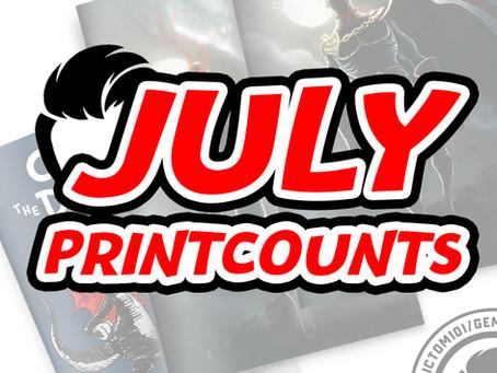 July MMC Print Counts