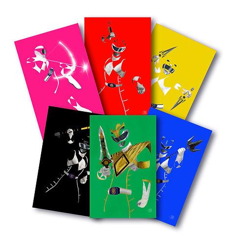 Power Rangers Core Set