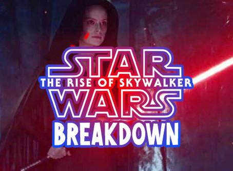The Rise of Skywalker Breakdown