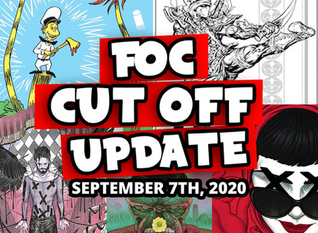 DON'T MISS OUT! F.O.C CUTOFF UPDATE 9-07-2020