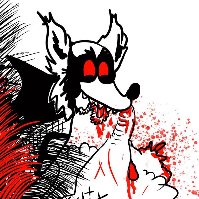 Grey Wolf Dr. Seuss Homage