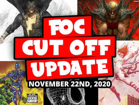 DON'T MISS OUT: FOC 11/22