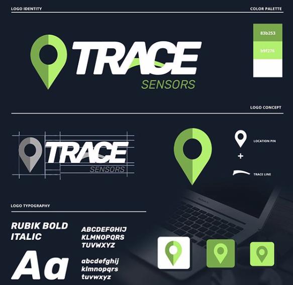 Trace Logo Mock Up