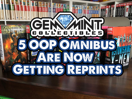 5 OOP Omnibus Are Now Getting Reprints