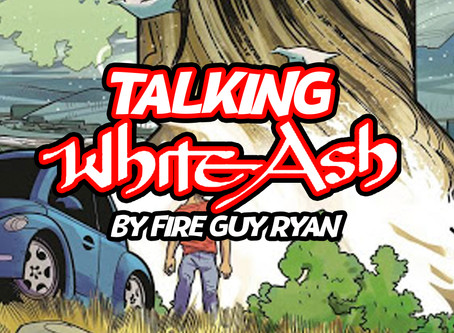 """Talking """"White Ash"""" from Scout Comics"""