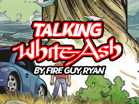 "Talking ""White Ash"" from Scout Comics"