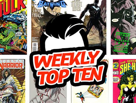 Weekly Top Ten Sept 6, 2019