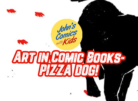 Art in Comic Books- Fraction and Aja's Masterpiece: PIZZA DOG!