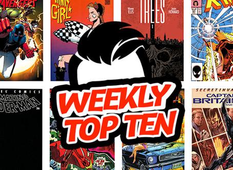 Weekly Top Ten Sept 20, 2019