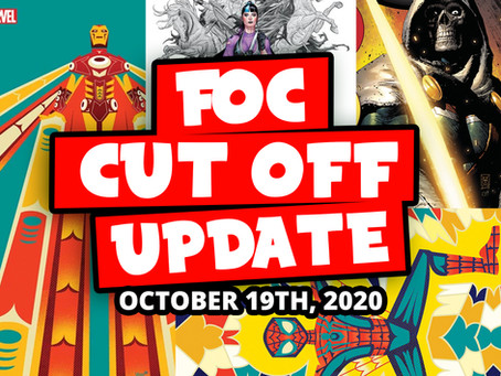 DON'T MISS OUT: FOC 10/19