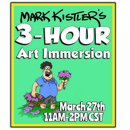 March 3-Hour Art Immersion Recording