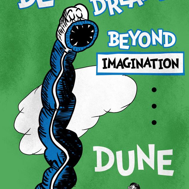 Dune Dr. Seuss Homage