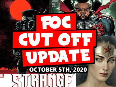 DON'T MISS OUT FOC this week 10/05