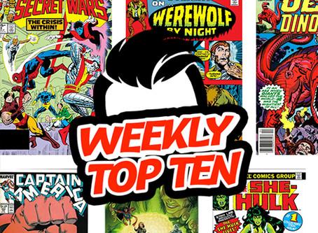 Weekly Top Ten Aug 30, 2019