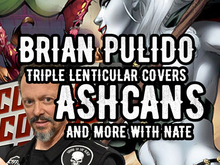 Variant Market, Collectible Ashcans & Lady Death! Interview with Brian Pulido