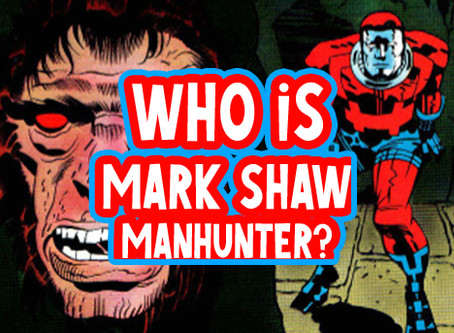 Who is Mark Shaw Manhunter?