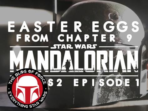 The Mandalorian: Easter Eggs from Season 2 Episode 1***SPOILERS***