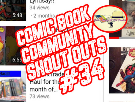 Epd.34 Comic Book Community Shout Out Show (Guest: Stay Puff 1983)