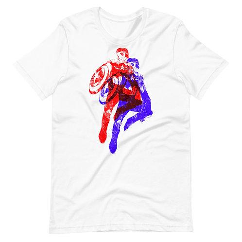 Captain American Stencil T-Shirt